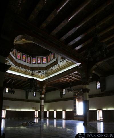 Cytadela w Aleppo, sala tronowa