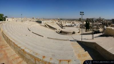 Amfiteatr- cytadela w Aleppo, Syria