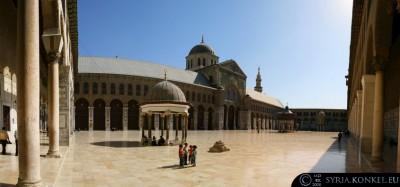 Umayyad Mosque, Damaszek, Syria