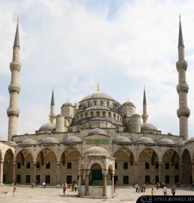 Niebieski Meczet, Stambuł, Turcja